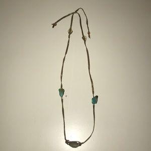 Tie necklace or bracelet